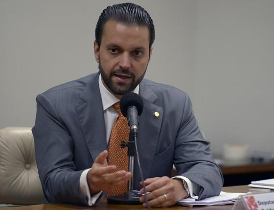 O ministro das Cidades, Alexandre Baldy (Foto: Leonardo Prado/Câmara dos Deputados)