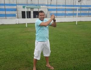 Zé Augusto, o 'Terçado Voador' do Paysandu (Foto: Gustavo Pêna/GLOBOESPORTE.COM)