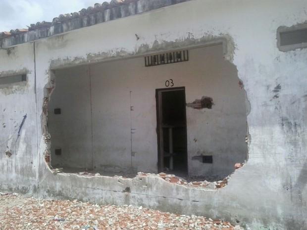 Equipe de engenharia da Sejuc deve providenciar laudo dos materiais para reforma (Foto: Divulgação/Sejuc-RN)