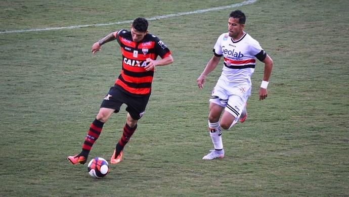 Anápolis x Atlético-GO no Jonas Duarte (Foto: Comunicação/Atlético-GO)