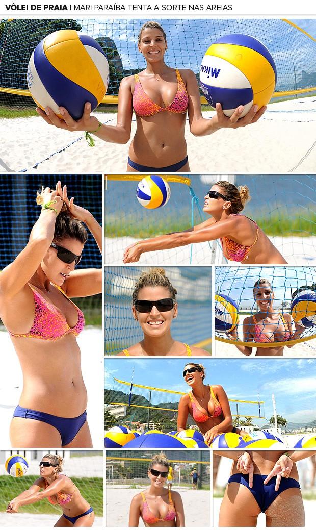 Galeria Mari Paríba treino vôlei de praia 2 (Foto: Alexandre Durão / Globoesporte.com)