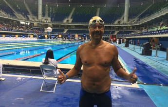 Nadando, Evandro supera síndrome do pânico e se realiza no Raia Rápida