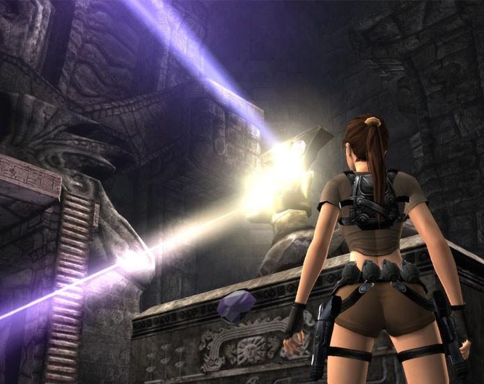 Tomb Raider Legend traz a busca pela Excalibur (Foto: Divulgação/Square Enix)