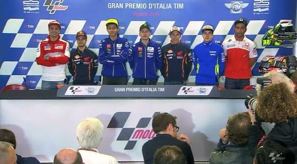 BLOG: Mundial de Motovelocidade - Coletiva de Imprensa abre os trabalhos do GP da Itália...