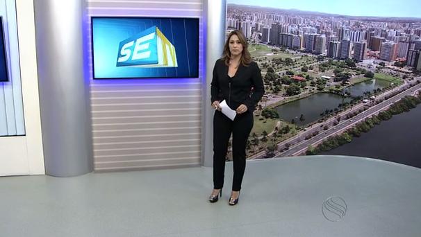 Susane Vidal apresenta o SETV 2ªEdição (Foto: Divulgação / TV Sergipe)