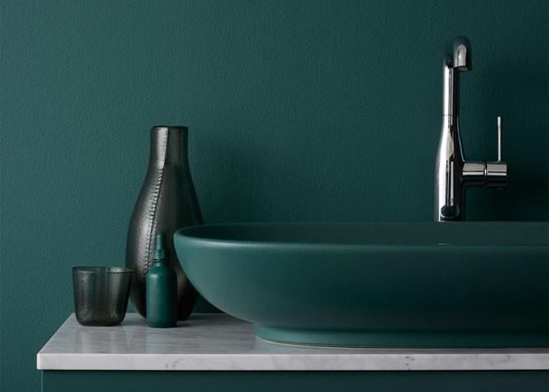 Banheiros coloridos (Foto: divulgação)