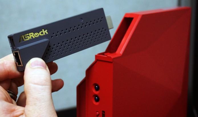Roteador conta com o seu próprio Chromecast (Foto: Divulgação/ASRock)