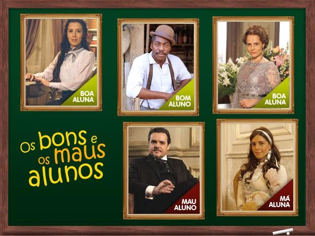 Dia do Professor (Foto: Lado a Lado/TV Globo)