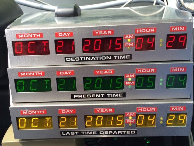Além de marcar a chegada de McFly ao futuro, 2015 é o ano que se comemora o 30º aniversário da saga (Foto: Glauco Araújo/G1)