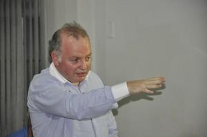 João Vicente Scarevelli presidente do TJD-MT (Foto: Robson Boamorte)