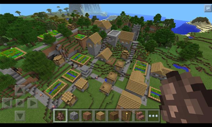 Minecraft Pocket Edition trouxe o fenômeno dos consoles para o Windows Phone (Foto: Divulgação/Windows Phone Store)
