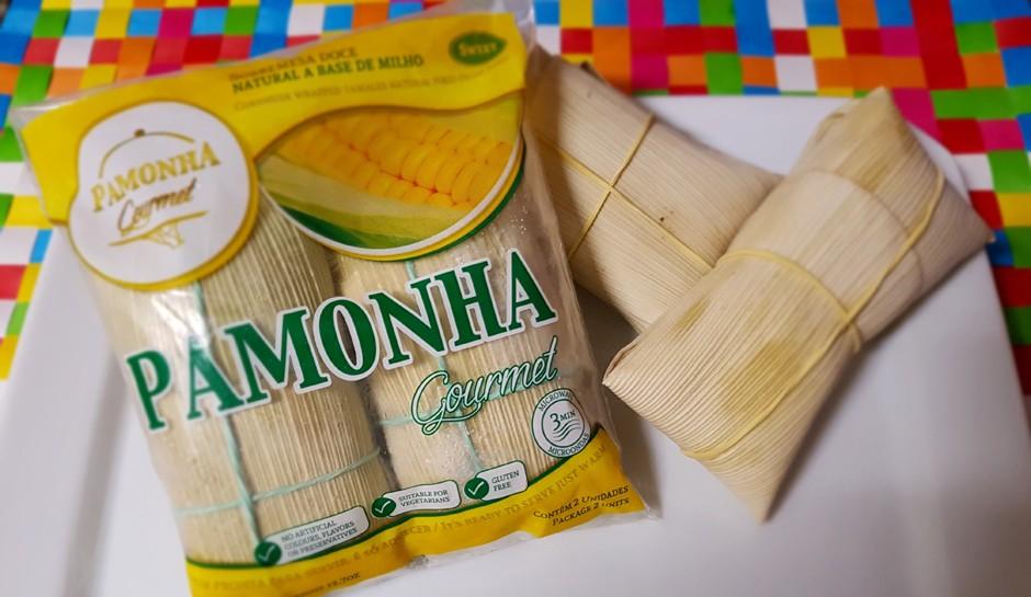 Pacotes da Pamonha Gourmet têm 2 unidades e custam R$ 12 (Foto: Divulgação)