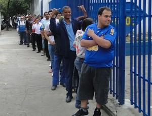 torcida cruzeiro ingressos sede do Barro Preto (Foto: Josino Ribeiro / Globoesporte.com)