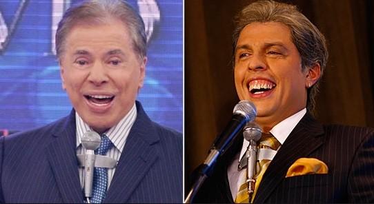 Silvio Santos encontrará seu imitador mais famoso em programa do Multishow  (Foto: Reprodução)