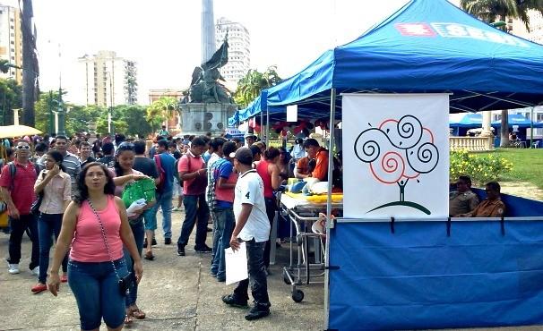 ABRH na praça (Foto: Bruno Magno)