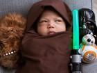 Zuckerberg posta no Facebook foto da filha vestida de Jedi