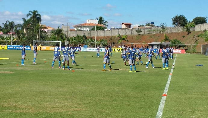 Treino do Cruzeiro (Foto: Marco Antônio Astoni)