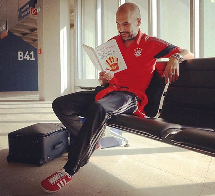 Guardiola, Bayern rumo a Moscou (Foto: Reprodução / Instagram)