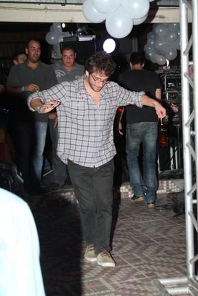 Humberto Carrão em festa no Rio (Foto: Anderson Borde/ Ag. News)