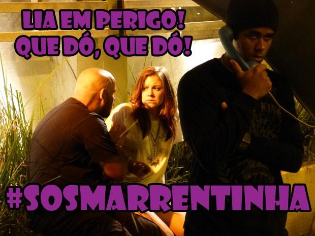 Tadinha da Lia! Corta o coração ver a marrentinha desse jeito, né? (Foto: Malhação / Tv Globo)