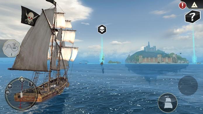 Use o mapa da tela principal para chegar mais rápido (Foto: Divulgação/Ubisoft)