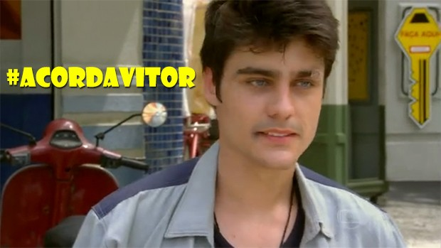 #AcordaVitor (Foto: Malhação / TV Globo)