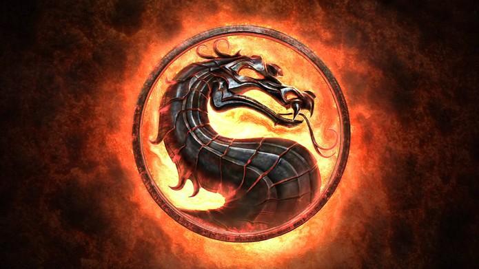 Mortal Kombat logotipo (Foto: Divulgação)