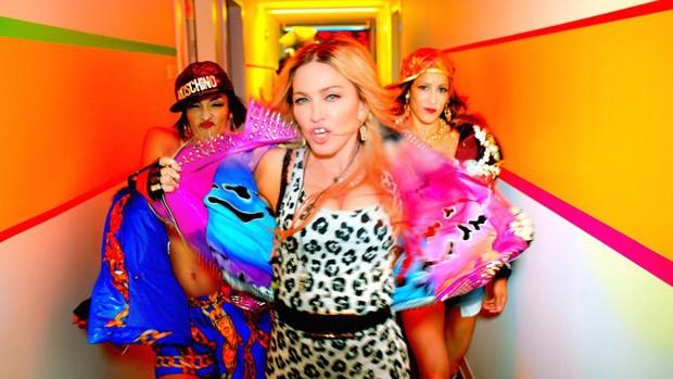 Cena do clipe de 'Bitch I'm Madonna' (Foto: Divulgação)