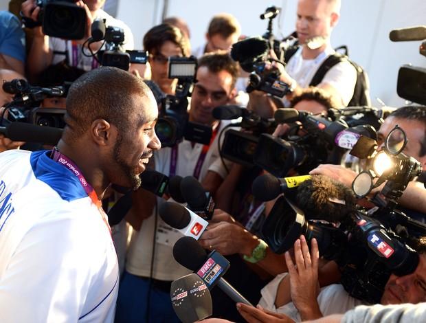 Judoca Françês Teddy Riner (Foto: Agência AFP)