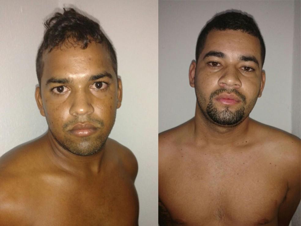 Irmãos suspeitos de homicídios em Sergipe e Alagoas foram presos em São Vicente, SP (Foto: Divulgação)