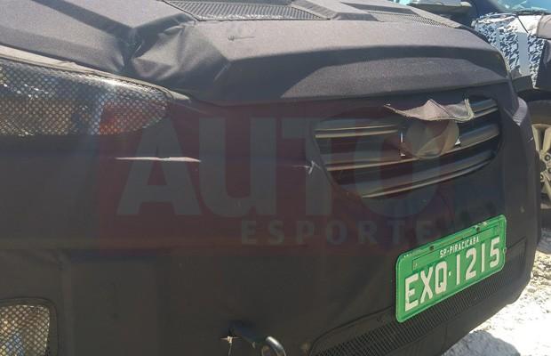 Hyundai ix25 em testes no Brasil (Foto: Guilherme Henning)