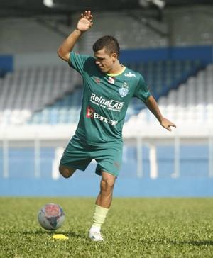 Ricardo Capanema desfalca o Paysandu contra o Boa (Foto: Marcelo Seabra/O Liberal)