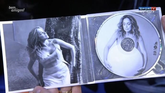 CD Daniela Mercury (Foto: Reprodução / SporTV)