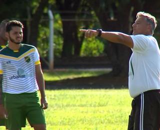 XV de Jaú, treino, Segundona, Baroninho (Foto: Reprodução / TV TEM)