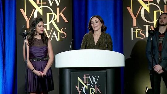 GloboNews recebe medalha de ouro no New York Festival