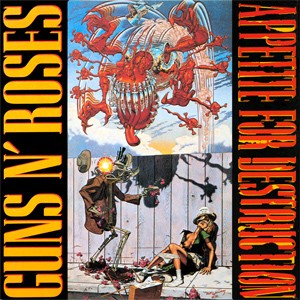 Guns N' Roses - 'Appetite for destruction' (Foto: Divulgação)