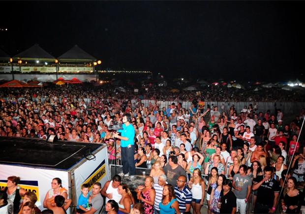 Projeto 'Show do Verão é Você', em Praia Grande, SP (Foto: Amauri Pinilha/Prefeitura de Praia Grande)