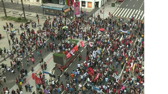 Paralisação contra reformas do governo afeta trânsito, transporte e serviços em Campinas e região