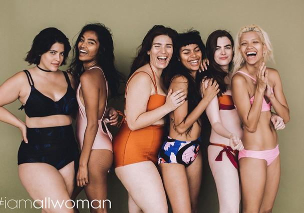 Denise Bidot, Shivani Persad, Clémentine Desseaux, Leaf, Charli Howard, e Victoria Brito (Foto: Heather Hazzan e Lily Cummings)