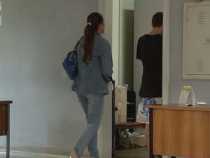 Menor prestou depoimento ao Ministério Público (Foto: Reprodução / TV TEM)