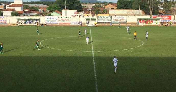 Tigre vence o Gurupi e se garante nas semifinais  (Foto: Erica Picelli/TV Anhanguera)