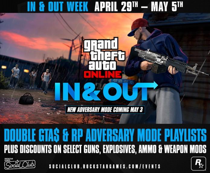 Modo online de GTA 5 ganhará novo modo na próxima semana (Foto: Reprodução/Rockstar)