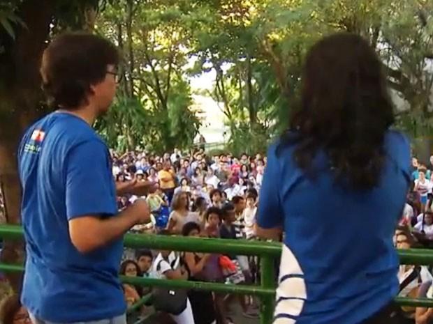Professores da UFBA decidem iniciar greve em assembleia na quinta-feira (Foto: Reprodução/TV Bahia)