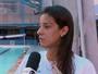 """Joanna Maranhão pensa em mudar para maratona aquática: """"Estou aberta"""""""