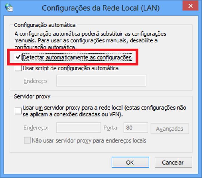 Configurar a conexão pode ser solução (Foto: Divulgação / Microsoft)