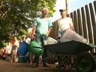 Número de pessoas atingidas pela chuva no Paraná ultrapassa 60 mil