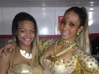 Valesca Popozuda se apresenta com a irmã em show