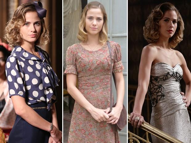 Pura versatilidade! Confira os diferentes looks de Hilda (Foto: Joia Rara/ TV Globo)