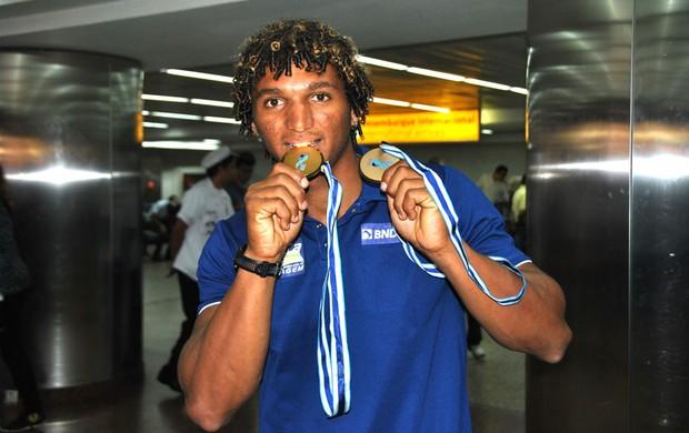 Isaquias Bronze canoagem (Foto: João Gabriel)