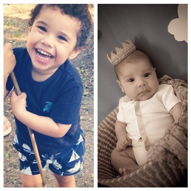 Zezé Di Camargo posta foto dos netos (Foto: Instagram/Reprodução)